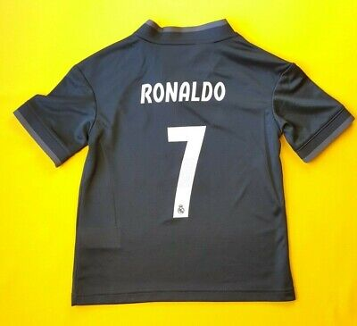 35a6a5380 5/5 Ronaldo Real Madrid kids jersey 7-8 y. 2019 shirt CG0570 soccer Adidas  ig93