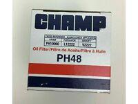 SIX 6 USA Champ PH48 Oil Filter CASE fits PH10060 MO2222 PF48 L12222 57060 7060