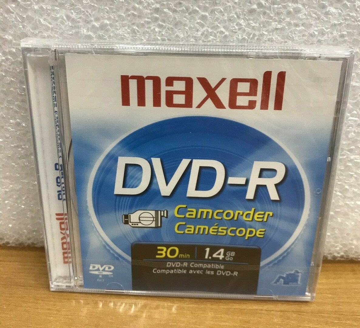 Maxell DVD-R Camcorder 30 minute 1.4 GB Mini DVD Discs Lot of 3 -NEW Sealed