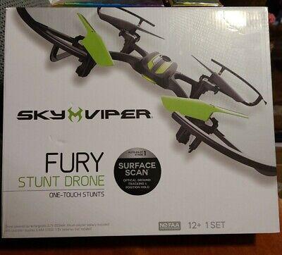 Sky Viper Anger Stunt Drone Open Box Complete!!