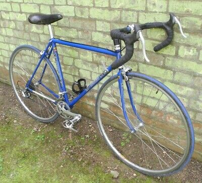 51cm M B Dronfield bike, 753 steel tubing