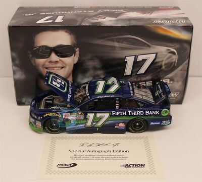 Ricky Stenhouse Jr Autographed 2015 Fifth Third Bank 1 24 Free Shipping