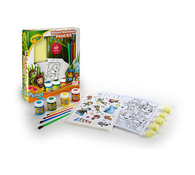 Crayola Deluxe Washable Paint Kit, Beat Bugs Complete Paint Kit for Kids