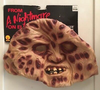 Freddy Krueger Mask - Nightmare On Elm Street Halloween Costume