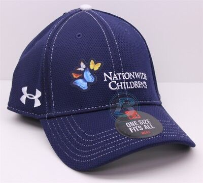 Dale Earnhardt Jr   88 Nationwide Childrens Hospital Osfm Blue Under Armour Hat