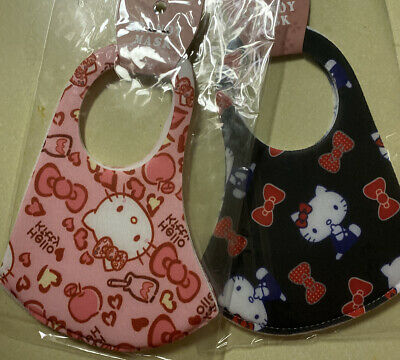 """Adult/Teens"" ~Hello Kitty~ FACE MASK - WASHABLE (2 Masks) Black And Pink"