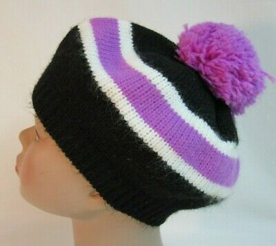 Polaris Classic Style Cuff Fold up Warm Snowmobile Winter Beanie Hat OEM