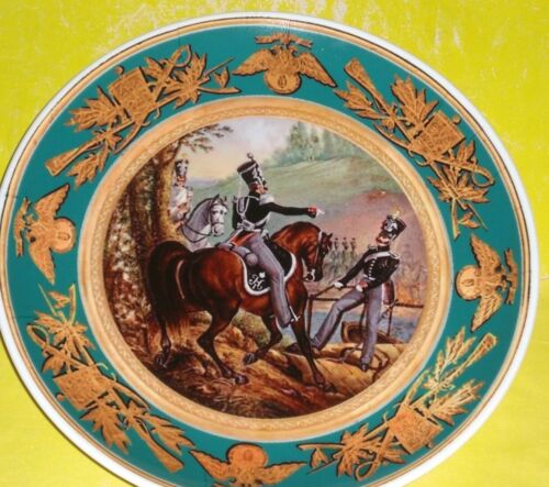 Kuznetsov Porcelain plate Russia