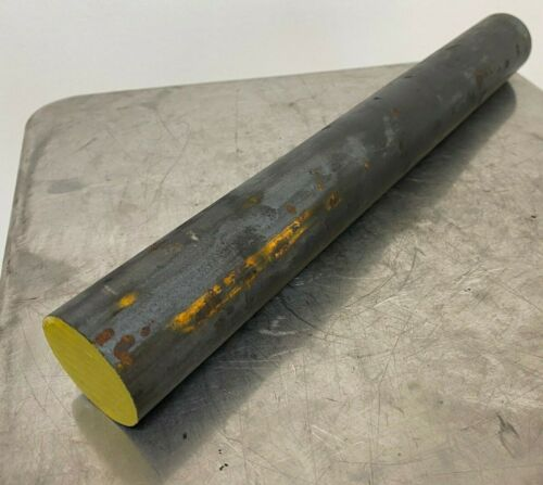 "1-1/2"" Diameter 1018 Hot Rolled Steel Round Bar Stock - x 12"" Length"