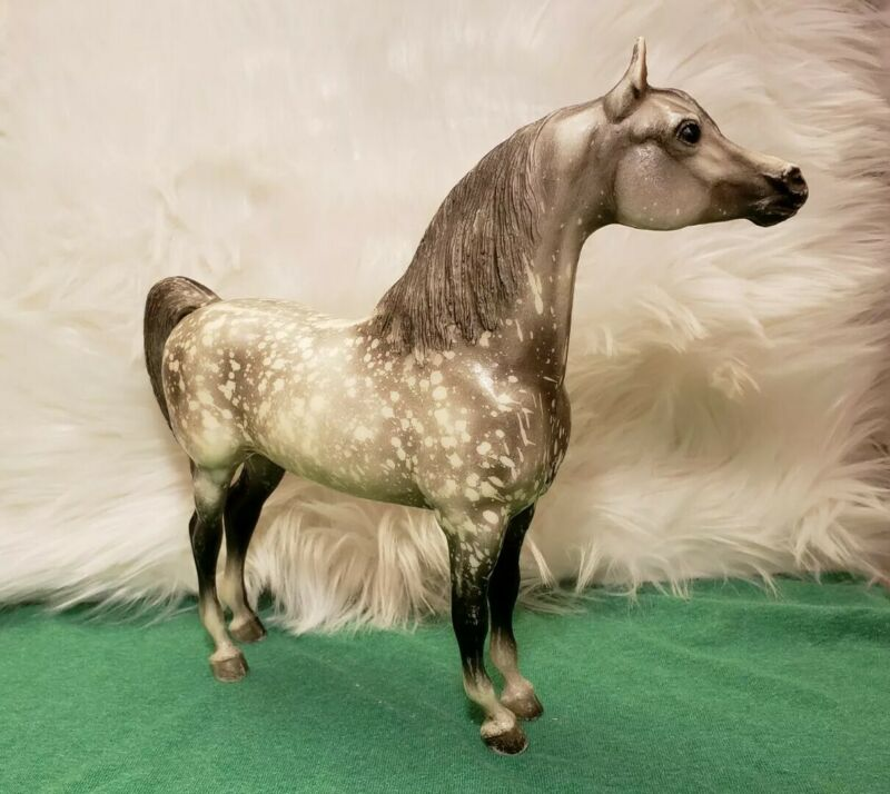 SUPER WILD DAPPLE Breyer Horse #213 Dapple Grey Proud Arabian Stallion PAS
