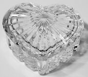 Lead Crystal Jewelry Box