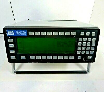 Larson Davis 3100 Rta Audio Acoustic Real Time Frequency Spectrum Analyzer