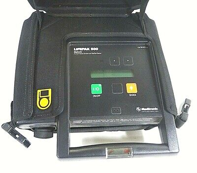 Medtronic Physio-control Lifepak 500 Biphasic Aed - Free Shipping
