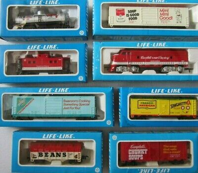 Life Like Campbell's Soup Promotional Train Set HO Scale - BRAND NEW - 1982