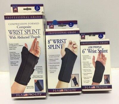Fla Pro Lite Wrist Splint (New FLA Pro Lite Professional Grade Wrist Splint, 6