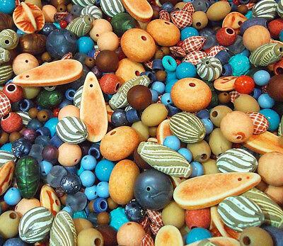 offperlen Set Großloch Mixform Acrylperlen Schmuck R455 (Große Kunststoff-perlen)