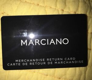 $204 Marciano/ Guess gift card ... selling for $150