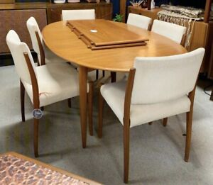 Set of six Fler dining chairs