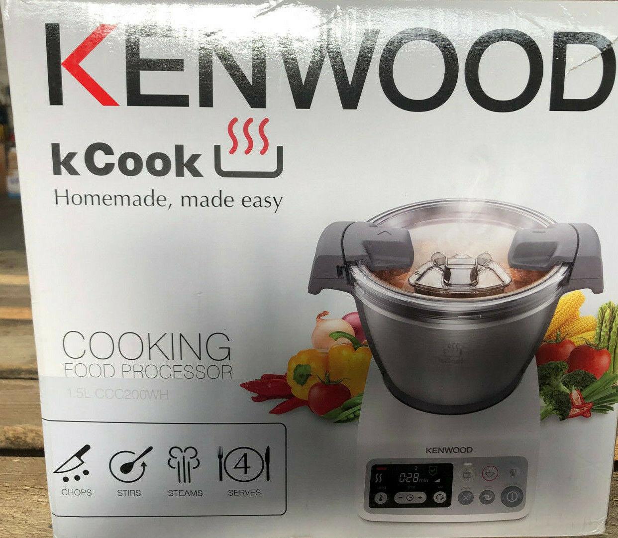 Kennwood kCook Küchenmaschine - gehäuse gebrochen