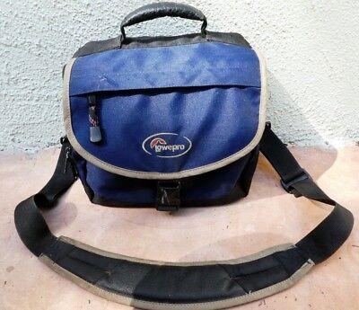 Lowepro Camera Camcorder case bag Medium system Nova 3 BLUE Medium Camcorder Case