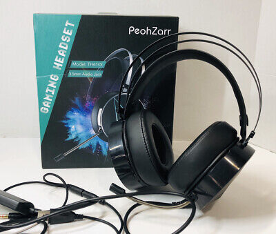 PeohZarr Gaming Headset TH614S Noise Cancelling Surround Sound