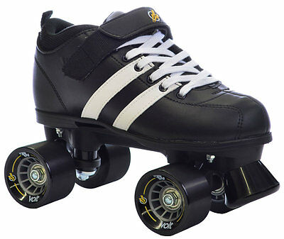 volt quad roller derby speed skates size
