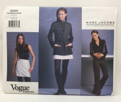 Vogue American Designer-muster (Vogue Muster 2025 American Designer Original Marc Jacobs Uncut)