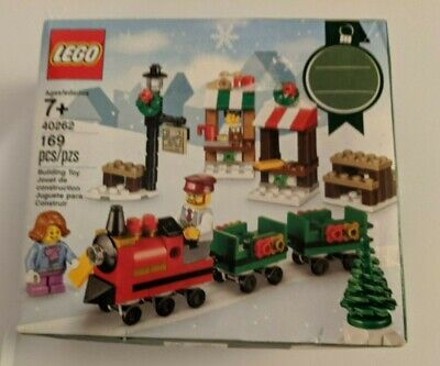 LEGO 40262 Christmas Winter Train Ride 169 Pieces Box Damage