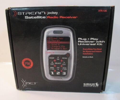 Xact STREAM Jockey Satellite Radio Receiver XTR1UK Sirius Kit *NEW*