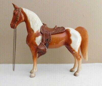Vintage Breyer Horse With Original Snap Saddle & Reins - 10'' tall