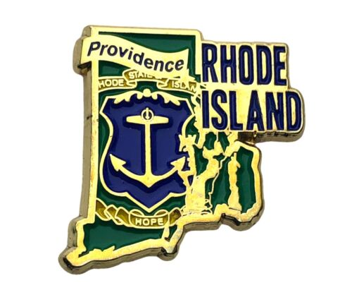 Rhode Island State Of Capital Providence Hat lapel Pin AVA F1D31L