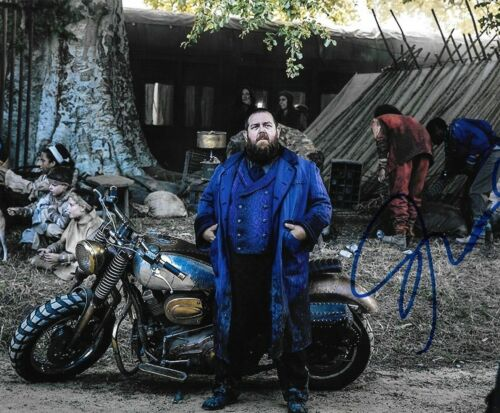 * NICK FROST * signed autographed 8x10 photo * INTO THE BADLANDS * 2
