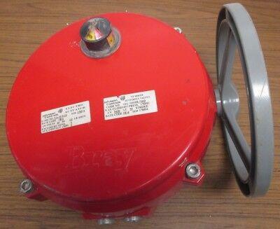 Bray Controls 70-0061-113d0-536/A Continuous Duty Electric Actuator Valve