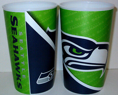 Seattle Seahawks Tailgate Party Fan Gift Hard Plastic Glasses Beer Cup 22oz - Seahawks Party