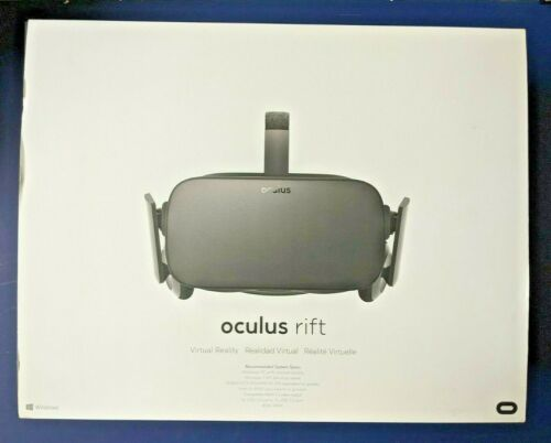 Oculus Rift CV1 - VR Virtual Reality Headset - Complete in Box - Lightly Used