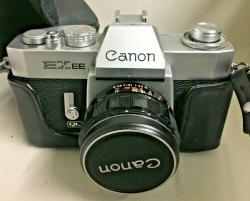 CANON EXEE QL Camera 50mm Lens 1:1.8 Japan