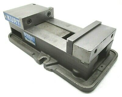 Kurt Anglock 6 Milling Machine Vise W Jaws - D675