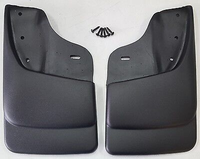 HUSKY LINERS Mud Flap Guards For Chevy S10 & Sonoma w/ ZR2 / Highrider (Front) Chevy S10 Mud Flaps