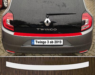 Ladekantenschutz Lackschutzfolie transparent Renault Twingo ab 2019