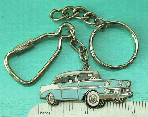 1956 Chevrolet BELAIR hardtop - keychain  , key chain GIFT BOXED