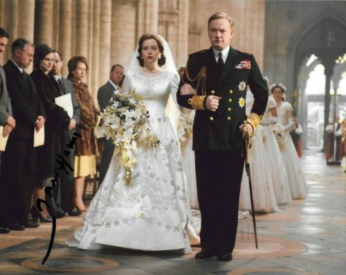 signed jared harris 8x10 the crown netflix