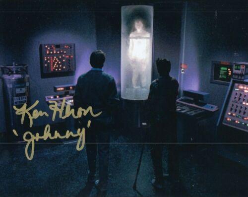 KEN HERON signed (NIGHT OF THE CREEPS) Horror Movie 8X10 *Johnny* photo W/COA