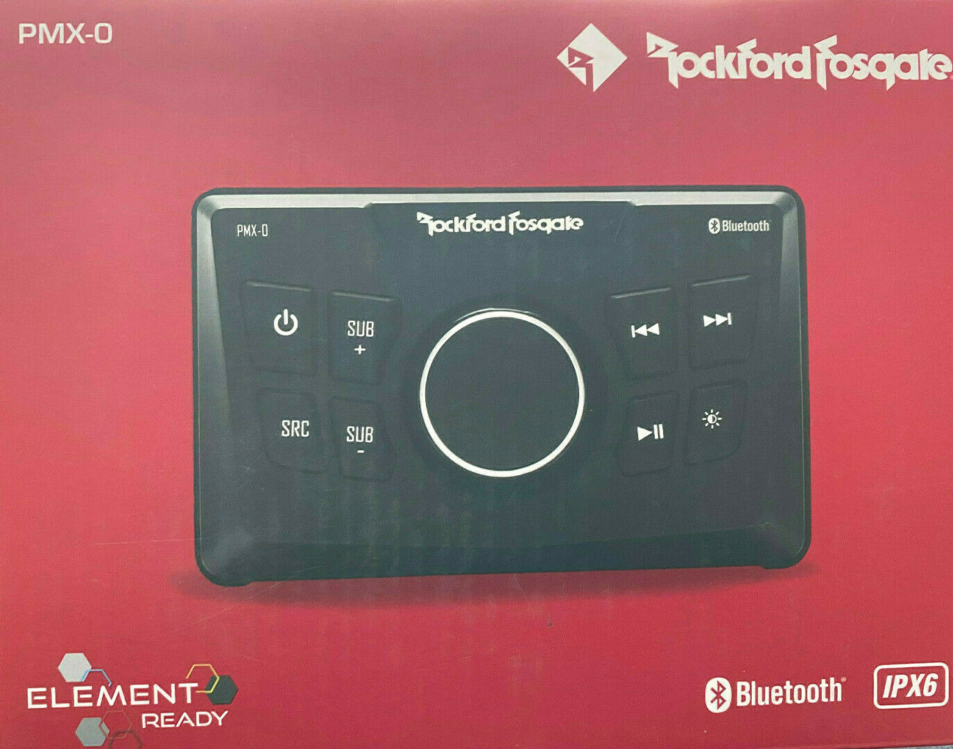 Rockford Fosgate PMX-0 Digital Media Bluetooth USB Receiver