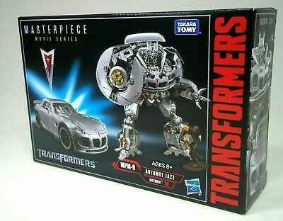 Hasbro Transformers Masterpiece Movie Series Autobot Jazz MPM-9 SEALED
