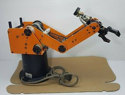 Eshed Robotec Scorbot-er Iii Robotic Arm Robot Controller Not Included