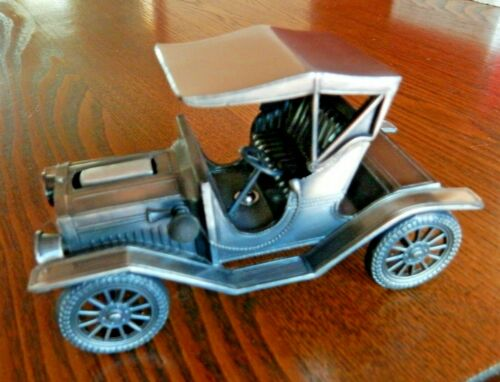 Diecast Metal 1910 MODEL T Tabletop Lighter NEVER USED In Box.