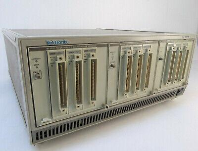Tektronix Tm5006 Mainframe W Three Mi 5010 Programmable Multifunction Modules
