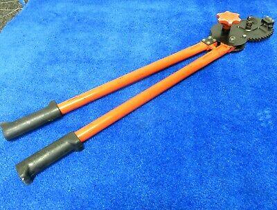 Klein Tools Ratchet Cable Cuttershear Cut28 63700-japan