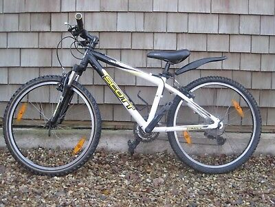Scott Scale JR 24inch wheel Junior Mountain Bike White - used