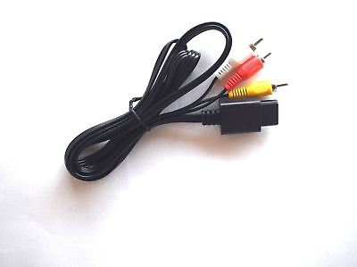 Used, AV RCA Video Audio Lead Scart Cable for Nintendo 64 N64 SNES GameCube Console for sale  Shipping to Ireland